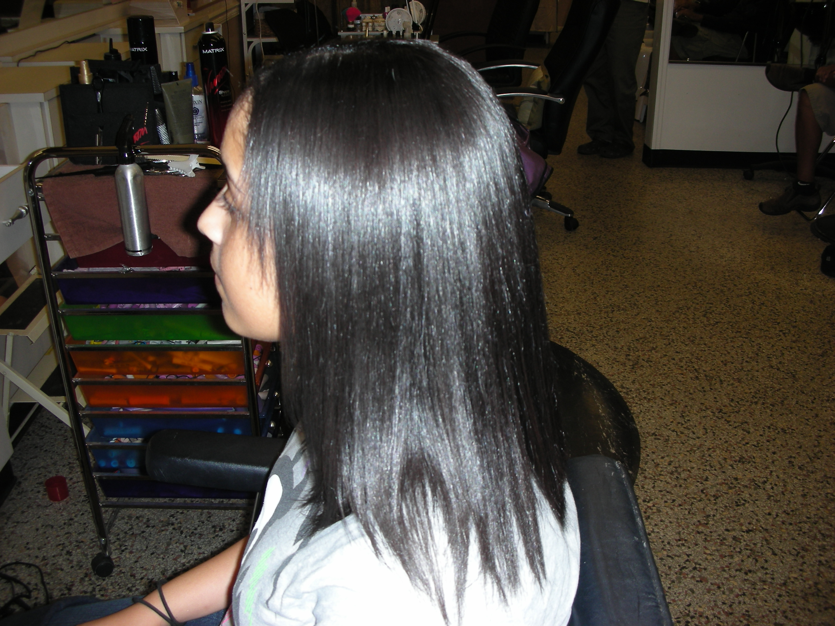 to amaze me japanese hair straightening or thermal reconditioning ...